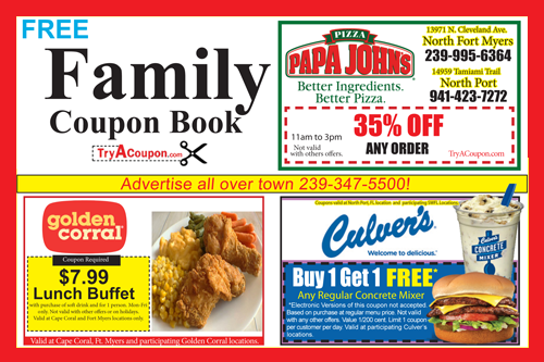 Family Coupon Book